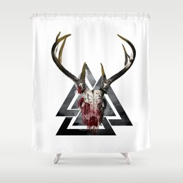 Odin's Fury Shower Curtain