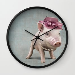 Miss Piggy Wall Clock