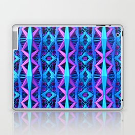 Blue/Purple Metallic Pattern Laptop & iPad Skin