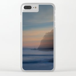 Warm Breezes Clear iPhone Case