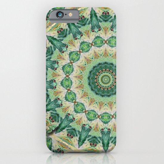 Luna Moth Kaleidoscope iPhone & iPod Case