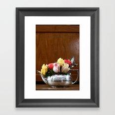 Rose Tea  Framed Art Print