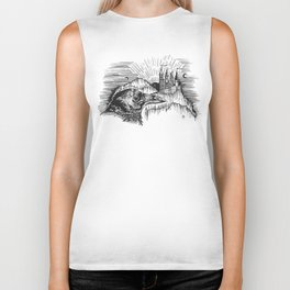 """A MASTER'S WATCHFUL EYES"" Biker Tank"