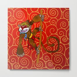Monkey King  Metal Print