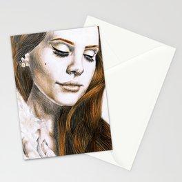 Lana DelRey Stationery Cards