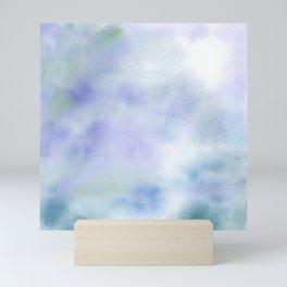 Secret Garden, Abstract Art Pastel Watercolor Mini Art Print