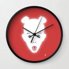 Glowing - Ade!e Wall Clock