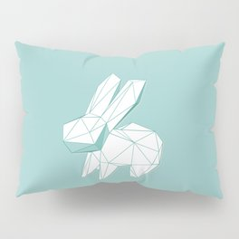 geometric rabbit Pillow Sham