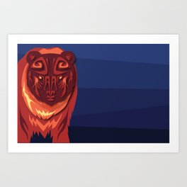 """""""Mathuin in Vector"""" by Paper Laine Art Print"""