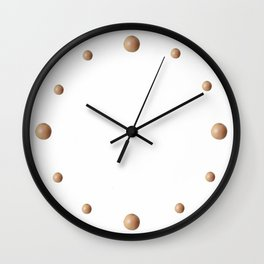 Grapefruit Solo Wall Clock