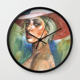 pop Synths Wall Clock