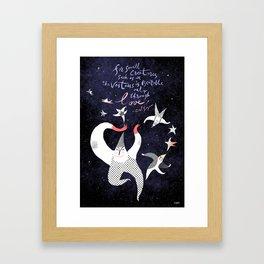 Star stuff Framed Art Print