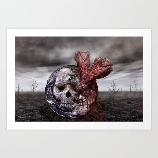 Save our World 8 Art Print