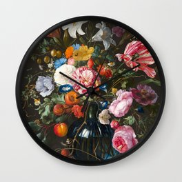 The Flower Of Life Wall Clock