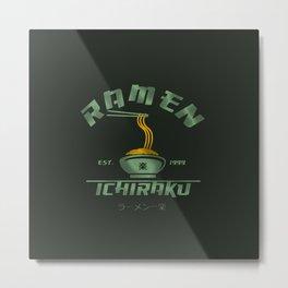 Ichiraku Ramen 1999 Metal Print