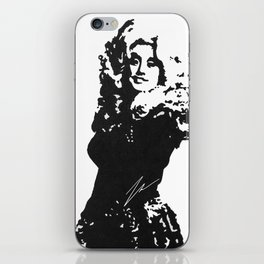 DOLLY PARTON BY ROBERT DALLAS iPhone Skin