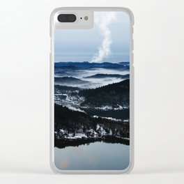 Ice Walkers Clear iPhone Case