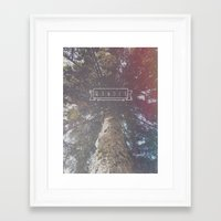 wander Framed Art Prints featuring Wander by Christine VanFonda