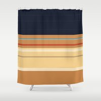 pocahontas Shower Curtains featuring Pocahontas by Fräulein Fisher