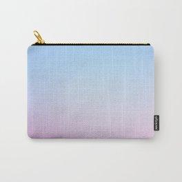 Cotton Blue Gradient Carry-All Pouch