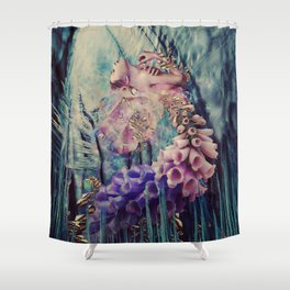 THE BLOOM Shower Curtain