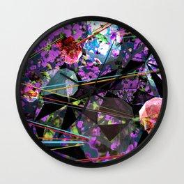 GeoLazer Wall Clock