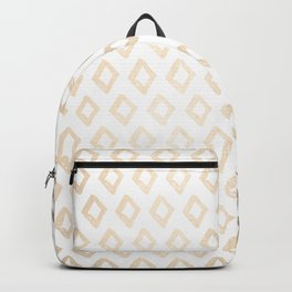 Gold Diamond Design II Backpack