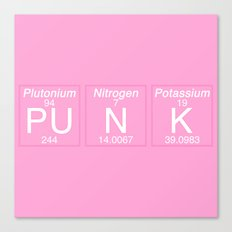 Periodic Punk Canvas Print