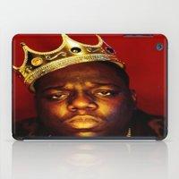 biggie smalls iPad Cases featuring Biggie by I Love Decor