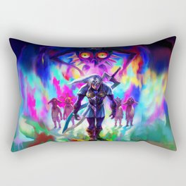 ZELDA LINK ART PAINT Rectangular Pillow