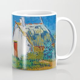 Three White Cottages In Saintes Maries By Vincent van Gogh Coffee Mug