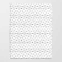 Geometric, Print, Minimal, Scandinavian, Abstract, Pattern, Modern art Poster