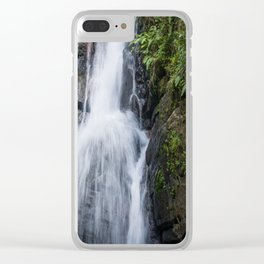 El Yunque Waterfall Clear iPhone Case