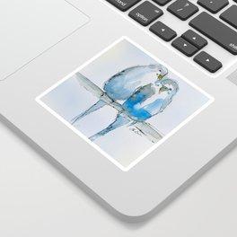 Parakeets Sticker