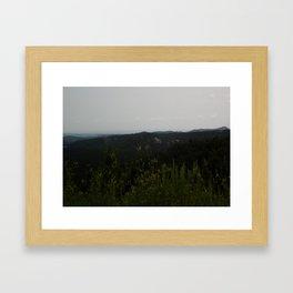Peak of Nature Framed Art Print