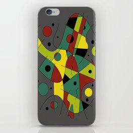 Abstract #226 The Cellist #2 iPhone Skin