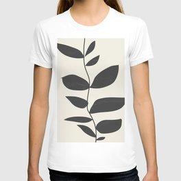 minimal plant T-shirt