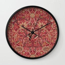 William Morris Bullerswood Pattern Wall Clock