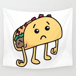 Sad Taco - Not Tuedsay Wall Tapestry