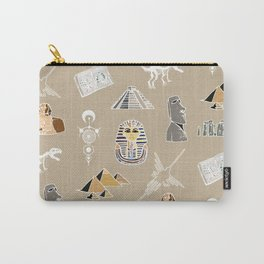 Archeo pattern Carry-All Pouch