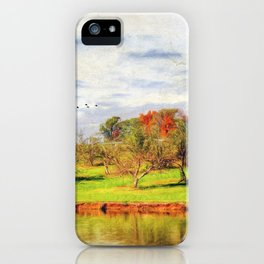 Across the Pond iPhone Case