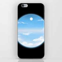 World Within Me - Blue iPhone Skin