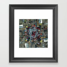 just do it modes Framed Art Print