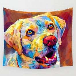 Labrador 6 Wall Tapestry