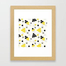In the Hive Framed Art Print