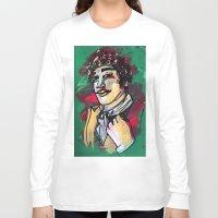 gentleman Long Sleeve T-shirts featuring Gentleman  by Tamara Jane Lenz