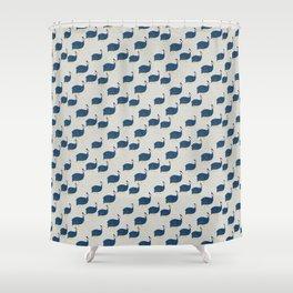 Guinea Fowl Shower Curtain
