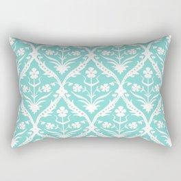 Jal trellis ikat Rectangular Pillow