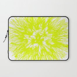 Make A Wish Dandelion Vector In Yellow Laptop Sleeve