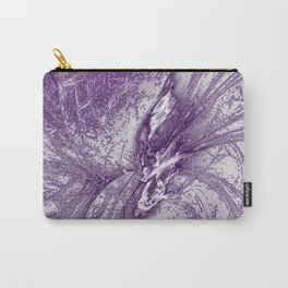 Splatter in Grape Carry-All Pouch